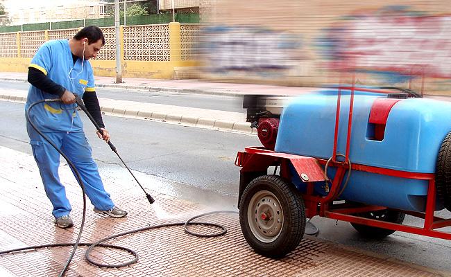 Exteriores for Trabajo de limpieza en murcia