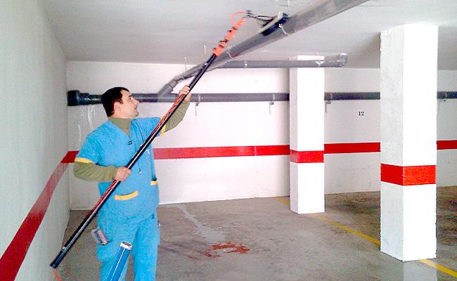 Garajes for Trabajo de limpieza en murcia